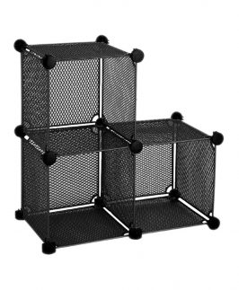 Wire Storage Cubes - Set with 3